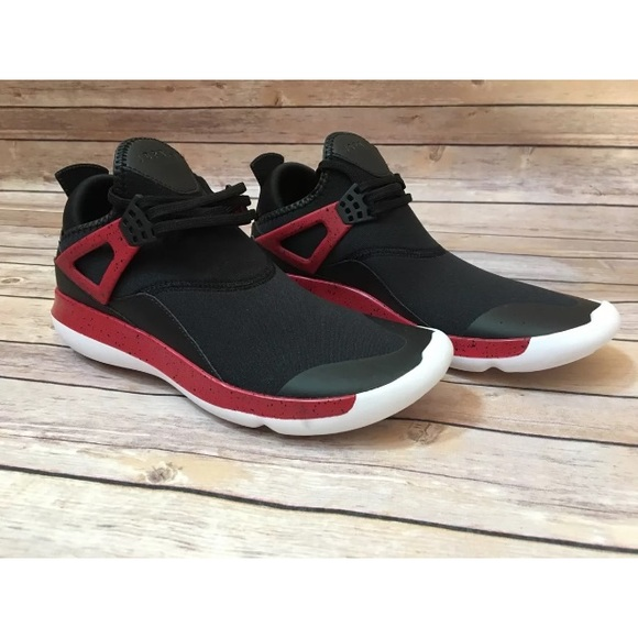 0393aaf3c52 AIR JORDAN FLY  89 TRAINER RUN BLACK GYM RED Shoes